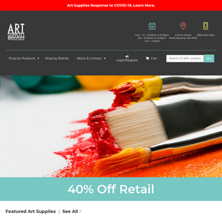 Discount Art Supplies - including Paint Brushes, Oil Paint, Oils, Watercolors, Canvas, Calligraphy, Clay, Crayons, Pencils, etc.