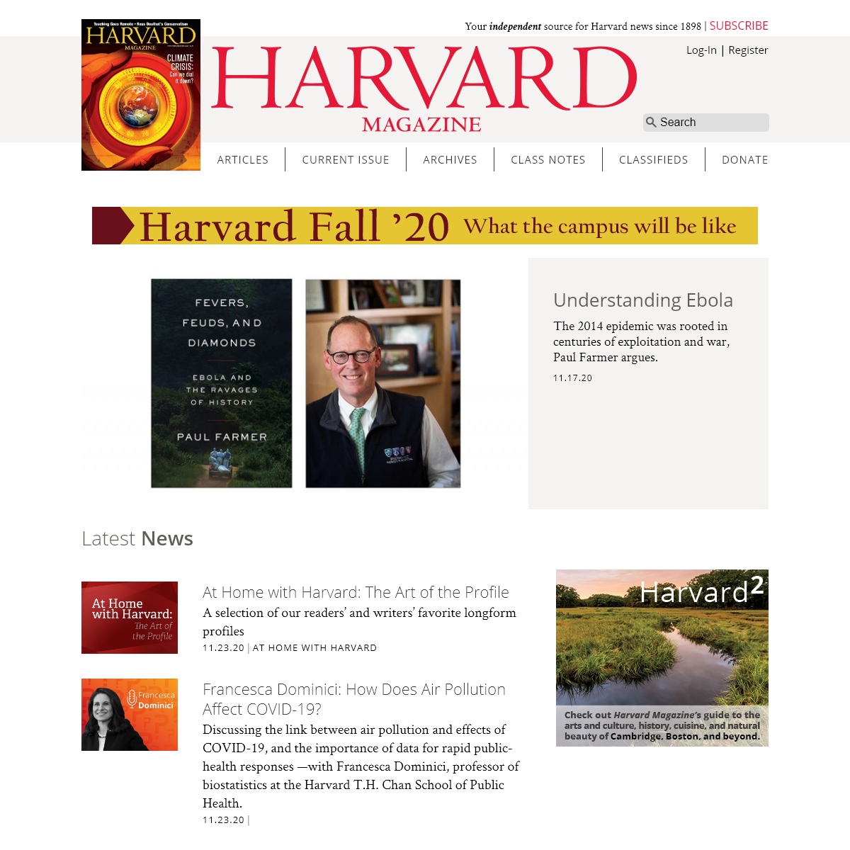 Harvard Magazine - Your editorially independent source for Harvard news, research, arts, and more.