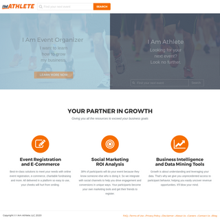 Online Race Registration and Fundraising Software for Running, Cycling and Triathlons - imATHLETE