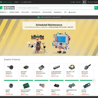 Electronic Components Distributor - Future Electronics