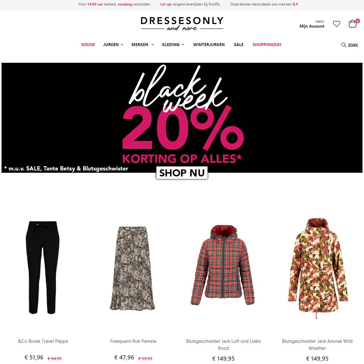 Dressesonly - Shop jouw nieuwe jurk van de mooiste labels - Dresses Only