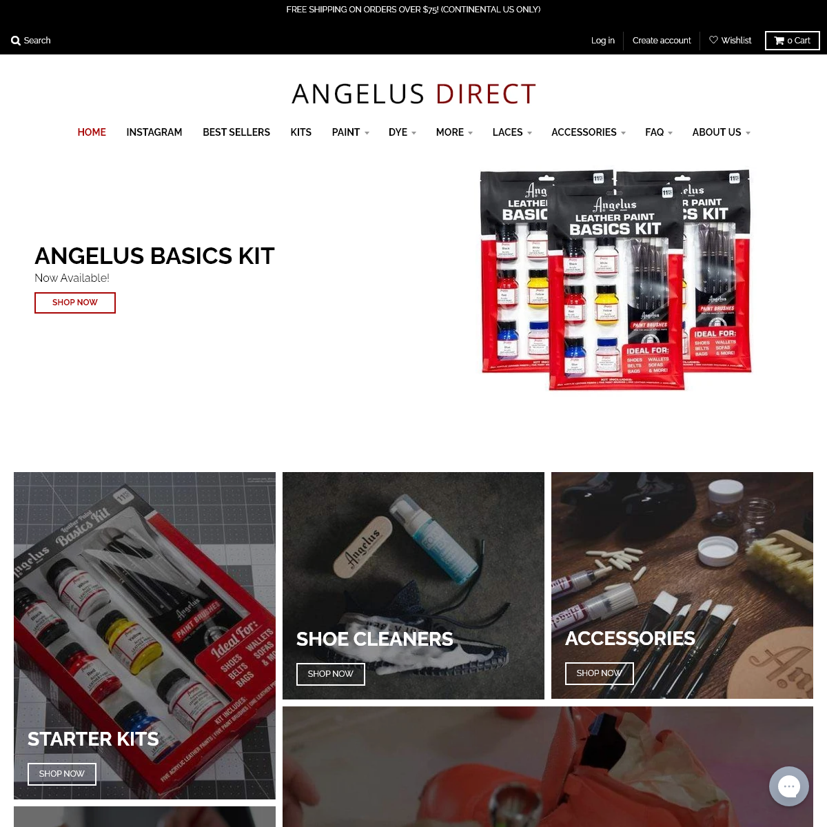 Angelus Direct - Angelus Paint - Shoe Cleaner - Shoe Care Products