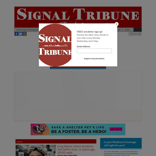 The Signal Tribune newspaper – Serving Bixby Knolls, California Heights, Los Cerritos, Wrigley and Signal Hill