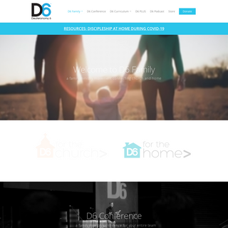 D6 Family - A Family Ministry Movement Connecting Church and Home