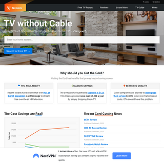 Antenna TV Experts – Free TV Cutting the Cord & Cable TV Alternatives