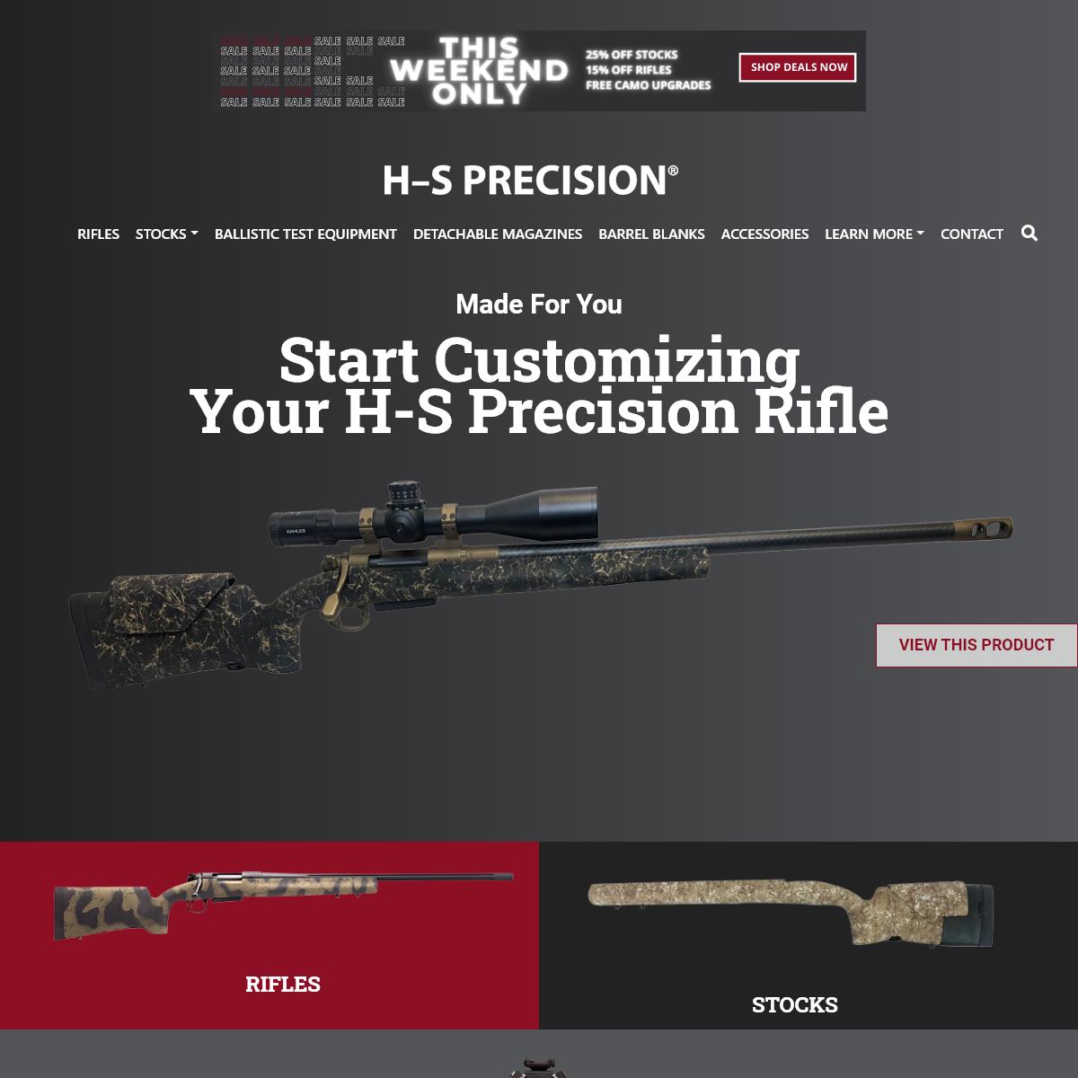 Home - H-S Precision