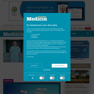 Dagens Medicin - Uafhængig nyhedsavis om sundhedsvæsenet