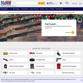 MidwayUSA - Shop Shooting, Hunting, & Outdoor Products