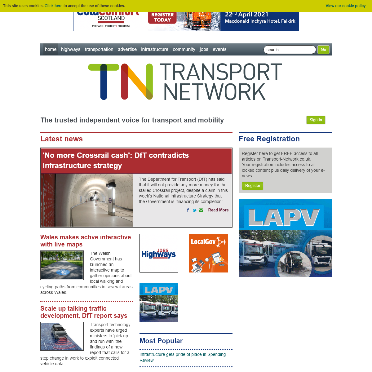 The Transport Network