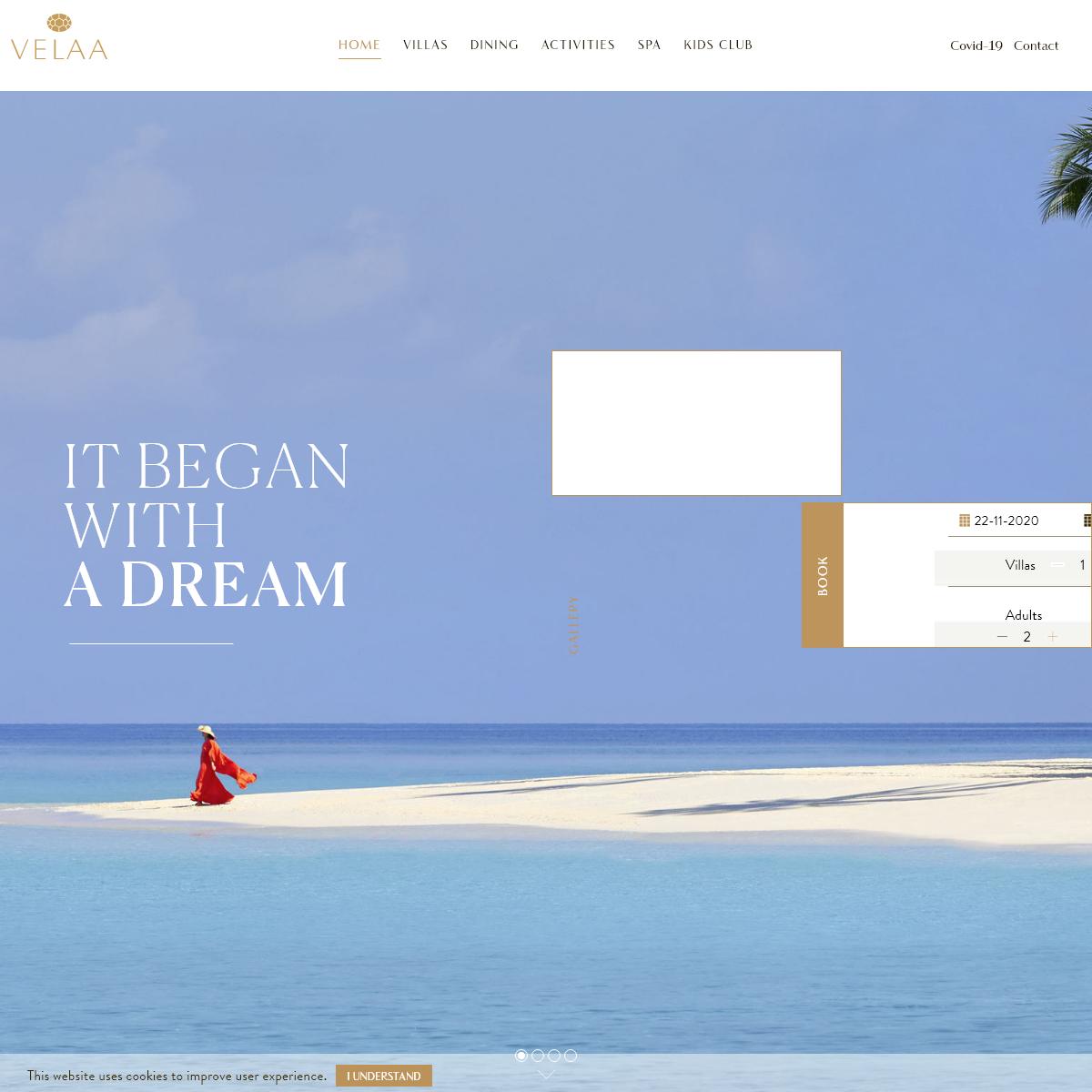 Official Website - Velaa Private Island - Luxury Resort & SPA