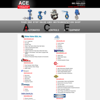 ACE - Automated Controls & Equipment, Inc.