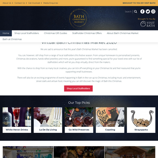 Welcome - Bath Christmas Market 2020