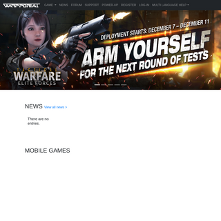 Welcome to Warpportal