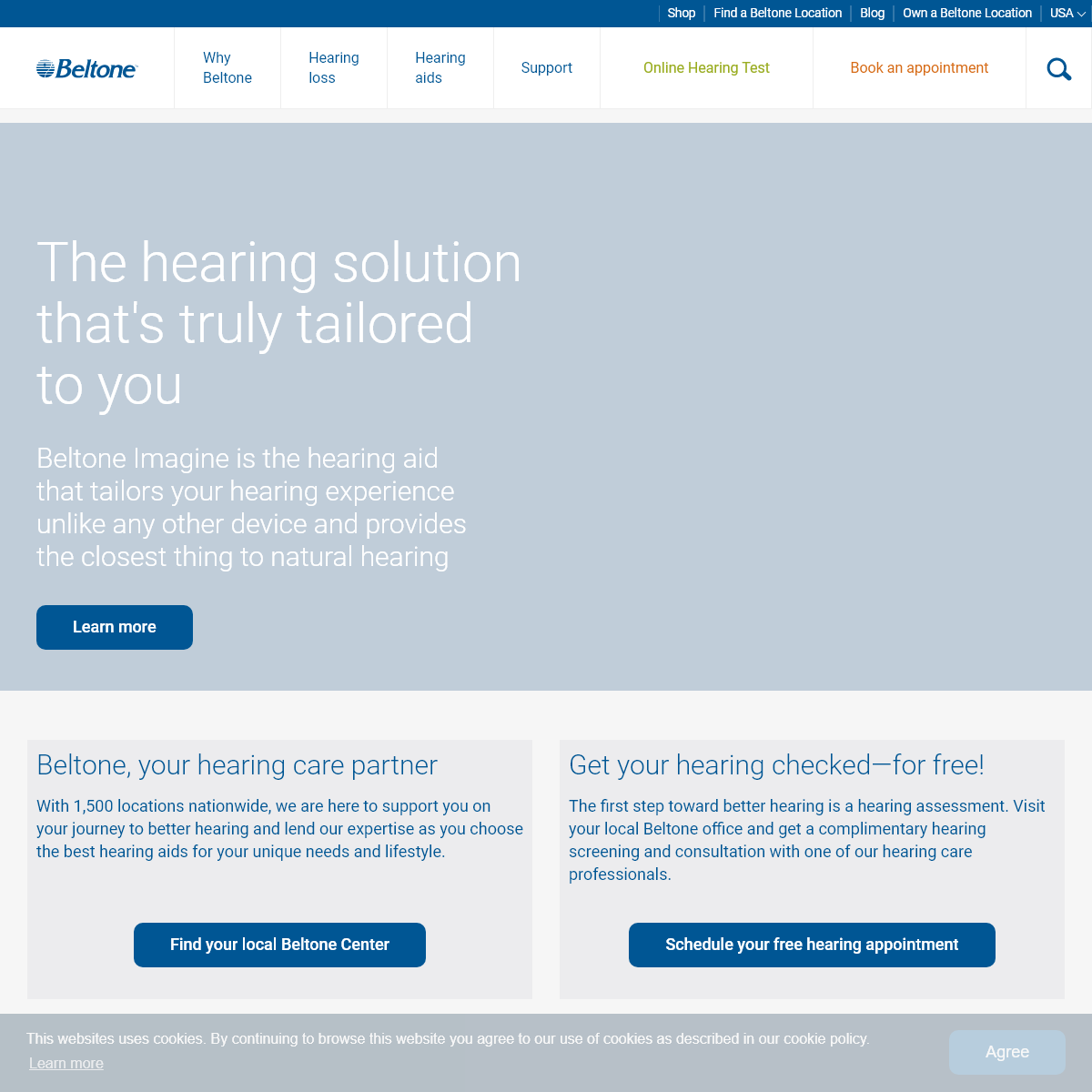 Beltone Hearing Aids - Award winning Solutions For Your Hearing Loss - Beltone