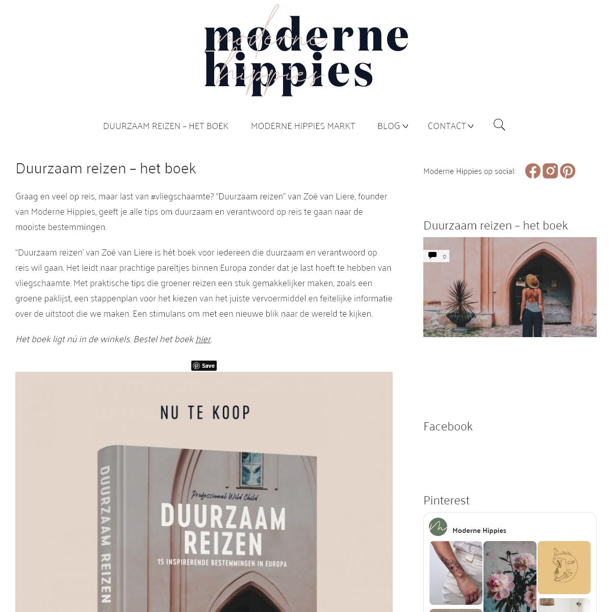 Duurzaam reizen - Moderne Hippies