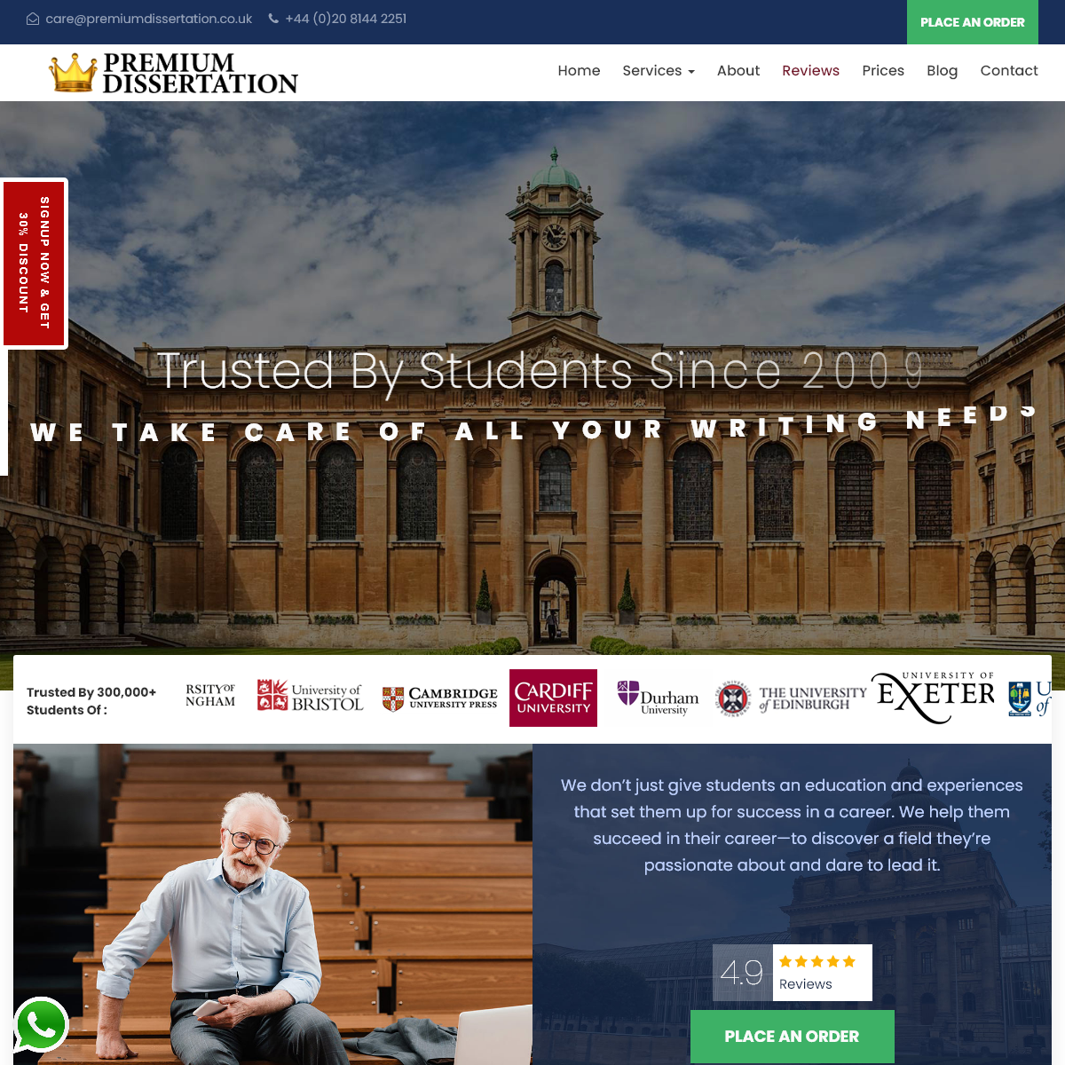 Best Dissertation Writing Services UK - Premium Dissertation