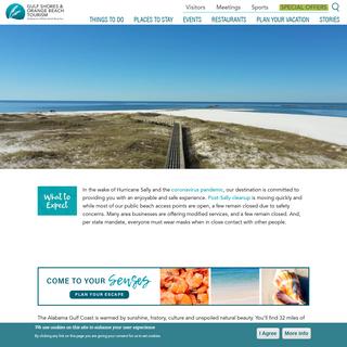 Gulf Shores & Orange Beach, Alabama - 2020 Tourism Information