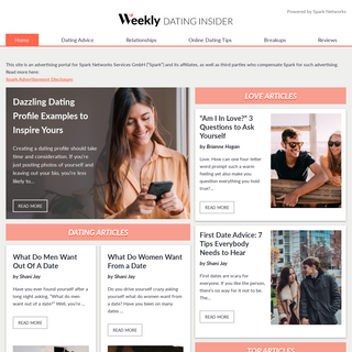 Home - Weekly Dating Insider