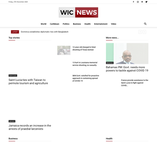 WIC News- West Indies and Caribbean News Online