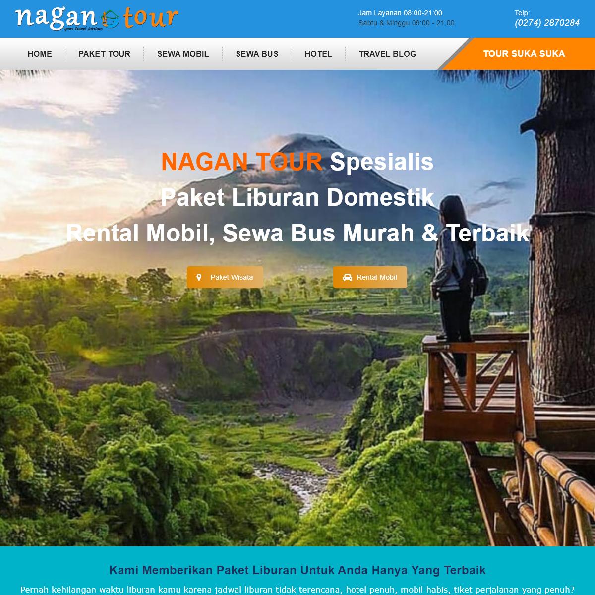 Nagan Tour- Paket Wisata dan Rental Mobil Murah dan Terbaik