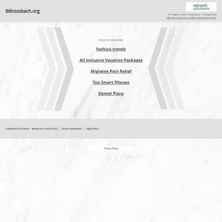Billrossbach.org