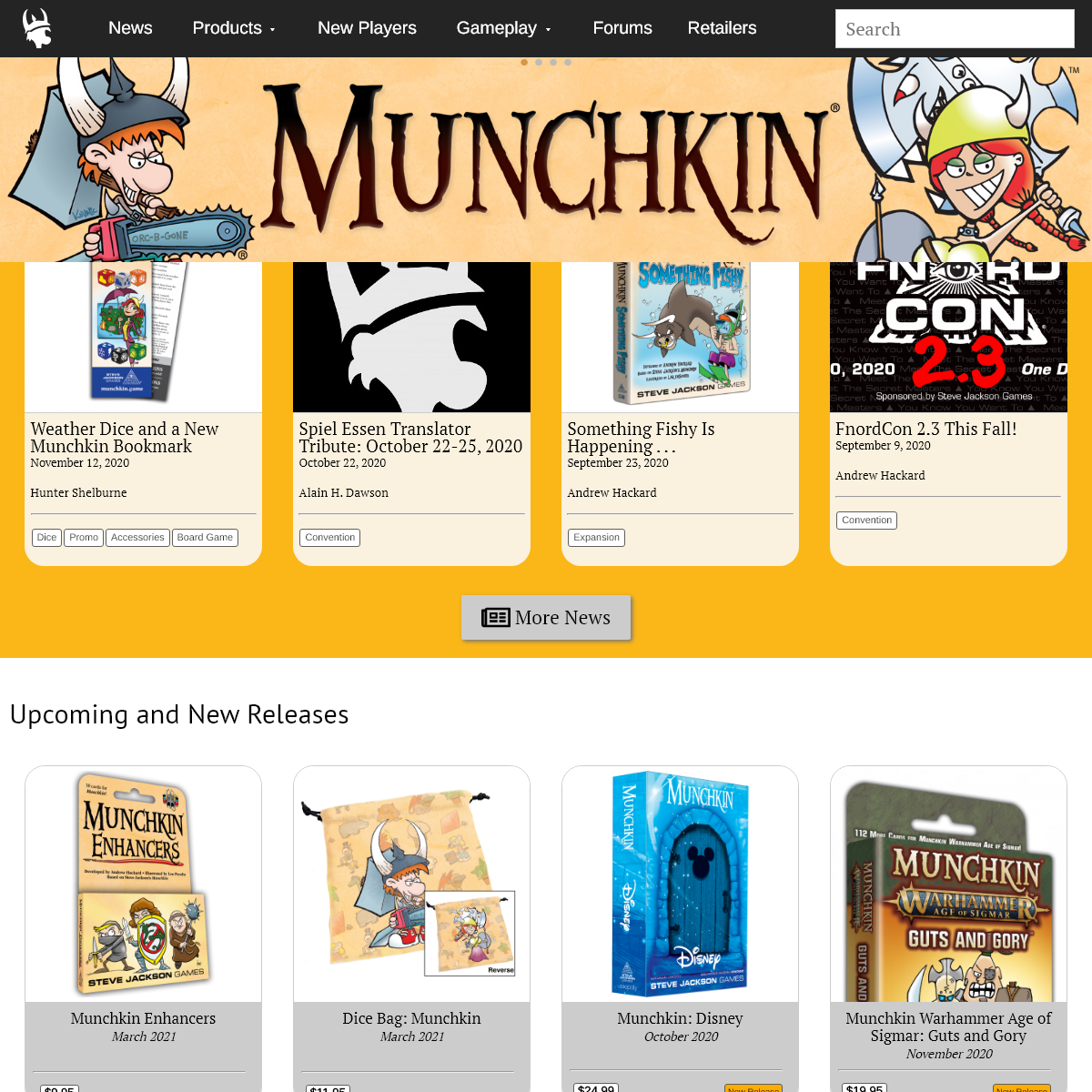 A complete backup of munchkin.game