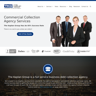 Commercial Collection Agency Services - The Kaplan Group
