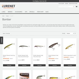 Bomber Lures - Lurenet.com