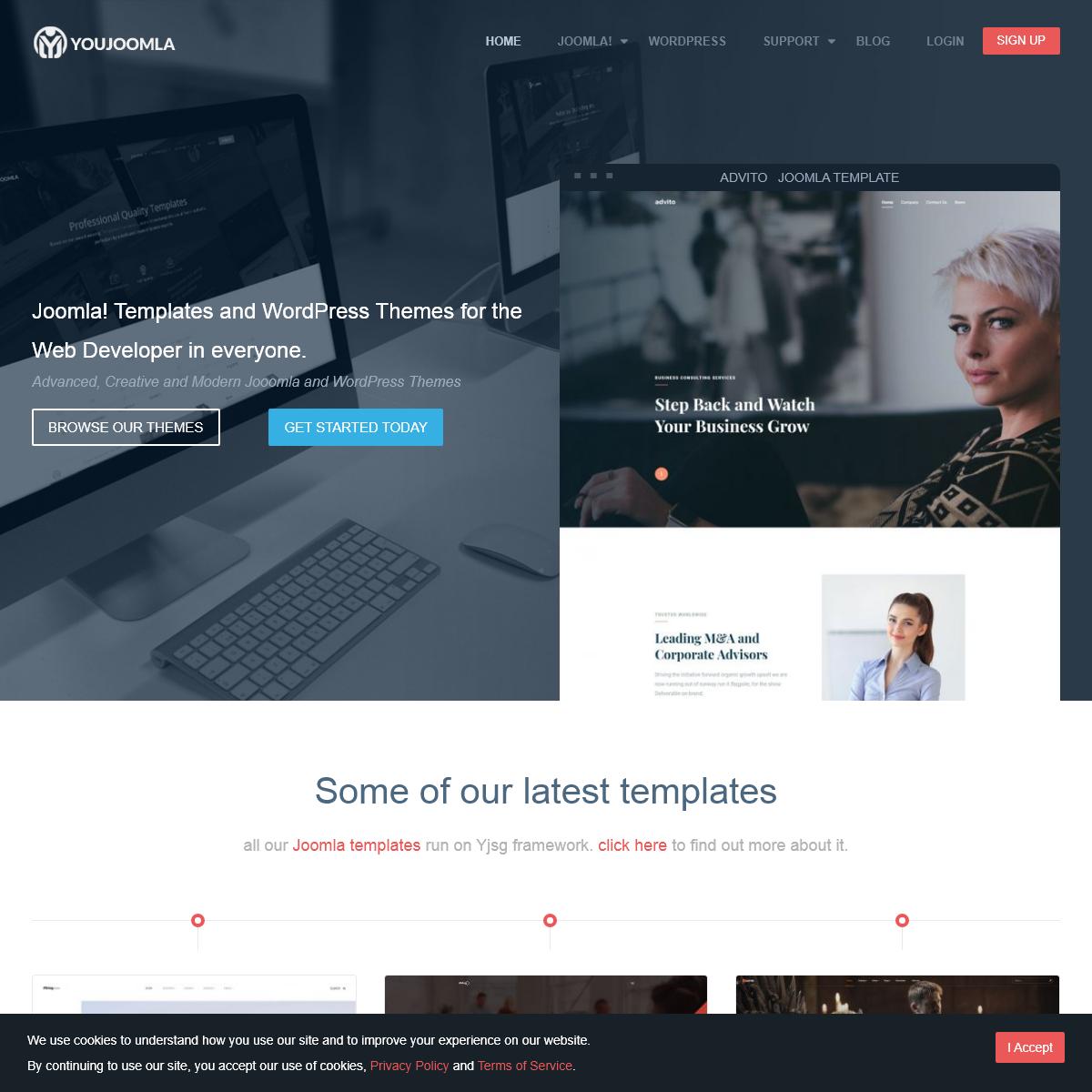 Professional Joomla Templates,WordPress Themes - Joomla Templates Club