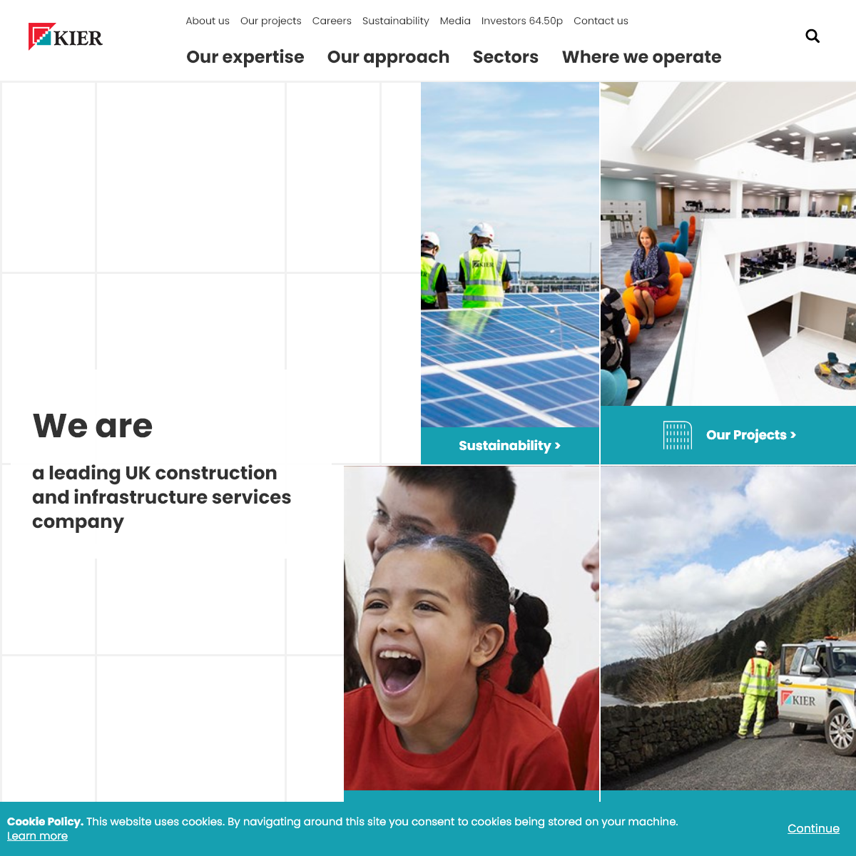 Kier - A leading UK construction and infrastructure services company
