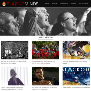 Blazing Minds - Celebrities, Movies TV Events and Theatre Reviews