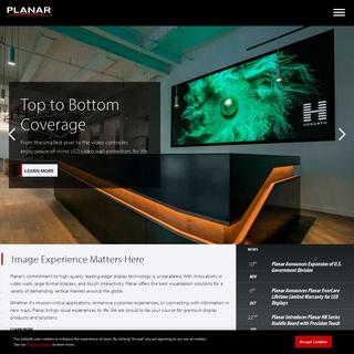 LCD & LED Digital Wall Displays & Signage Solutions - Planar