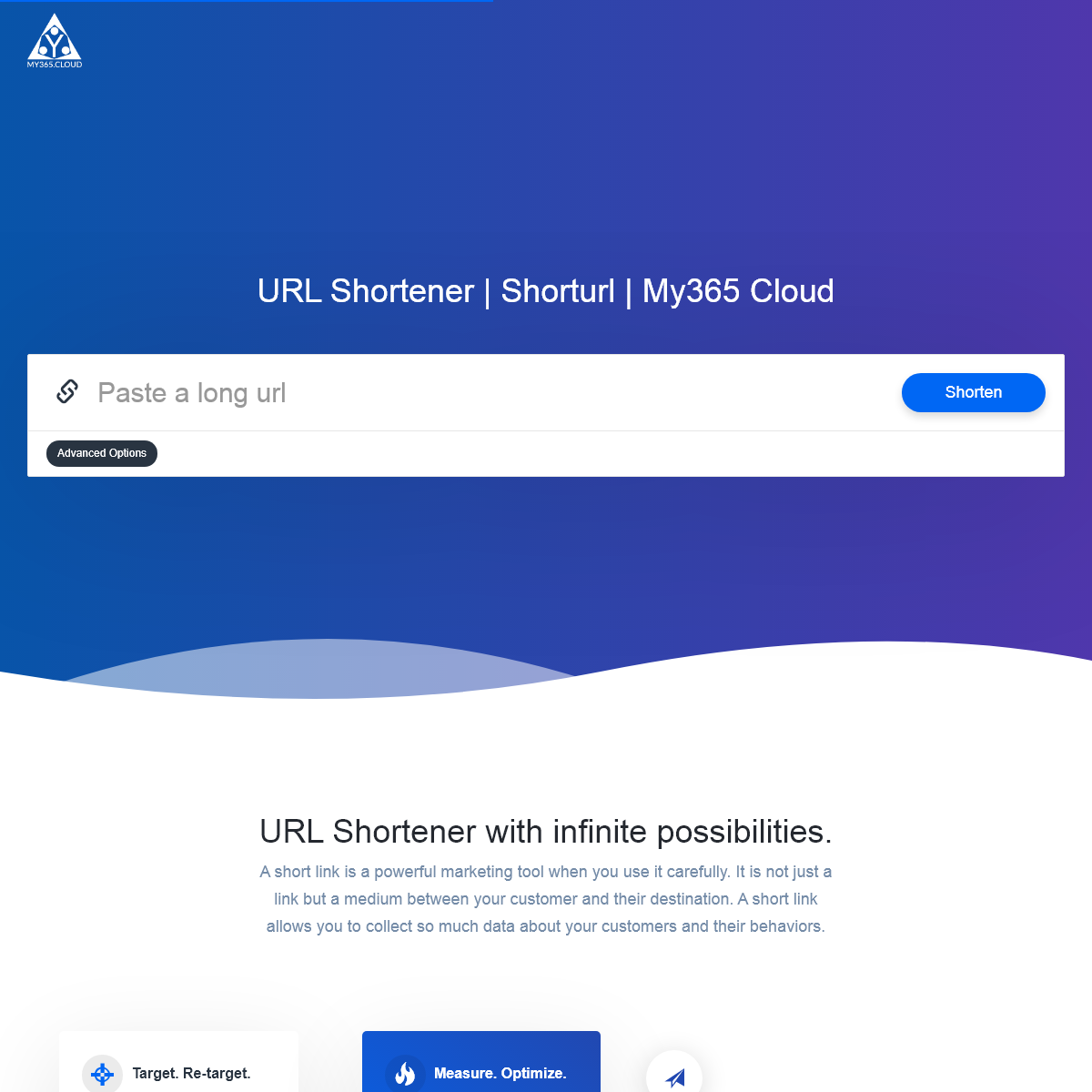 URL Shortener - Shorturl - My365 Cloud