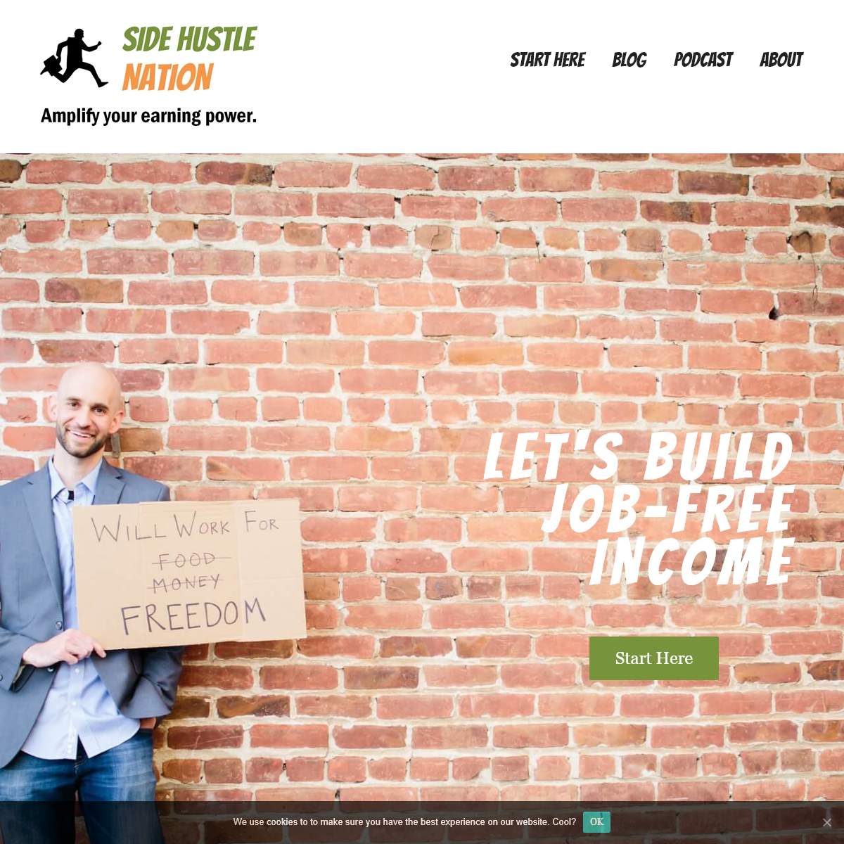 Side Hustle Nation- Make Money In Your Spare Time - Part-Time Business Ideas