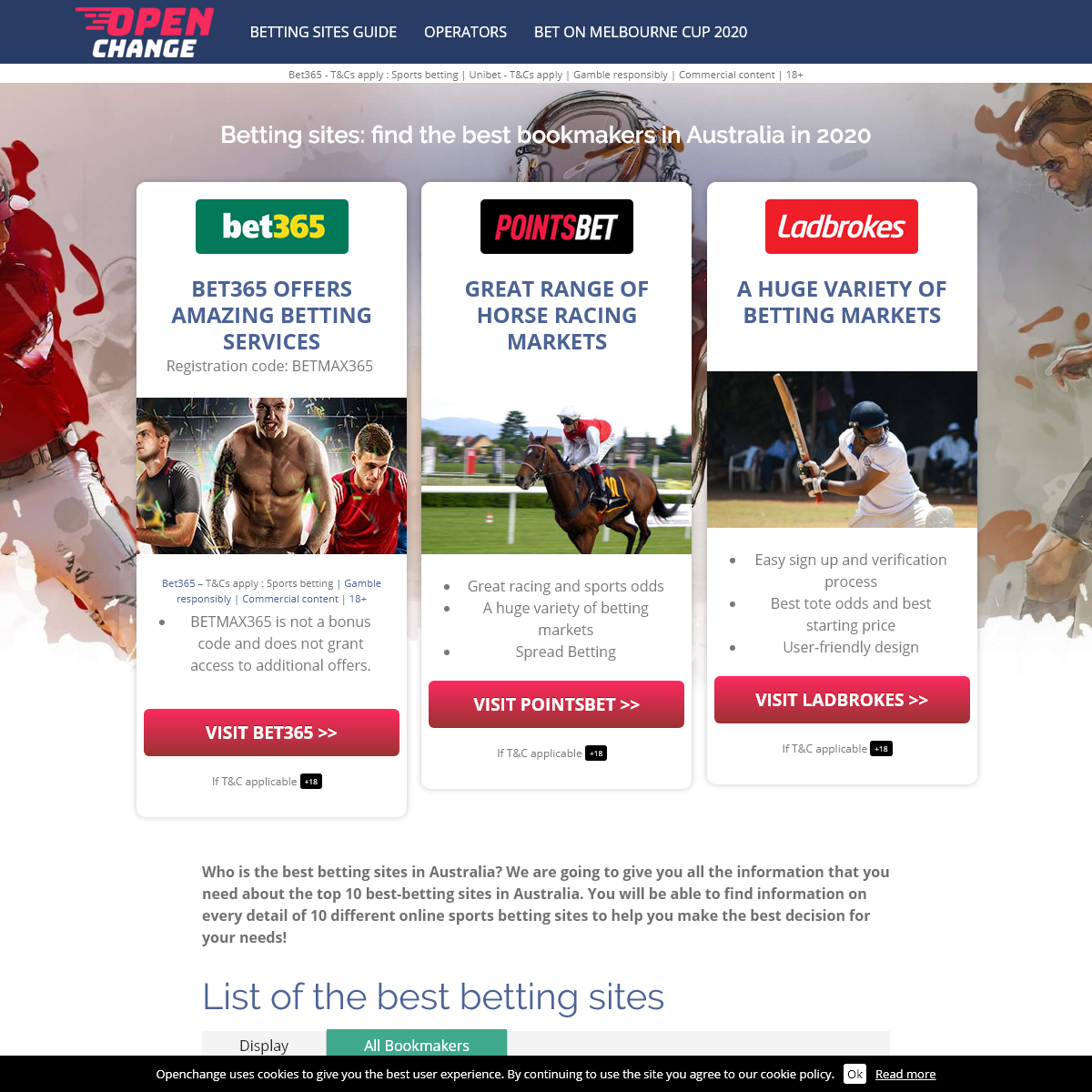 Best Australian Betting Sites for 2020 I Online Bookmakers