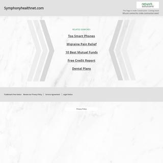 Symphonyhealthnet.com