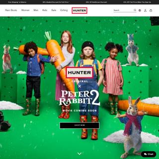 Official Hunter Boots Site - Shop Rainboots