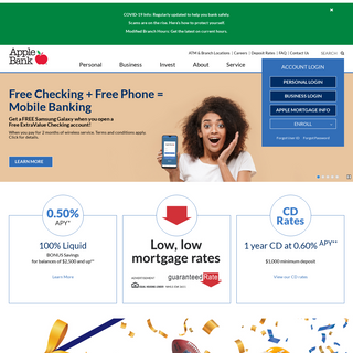 Apple Bank - New York Bank - Personal & Business Banking