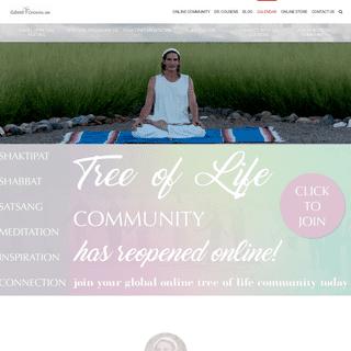 Tree of Life Center Us - Meditation Retreat Center - Spiritual Retreat