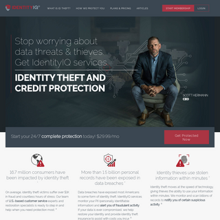 Trusted Credit & Identity Theft Protection - IdentityIQ