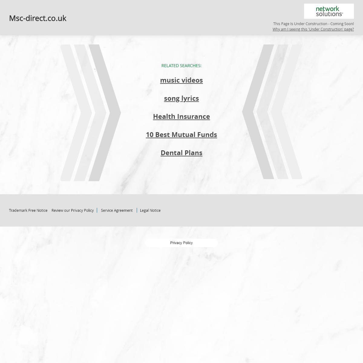 Msc-direct.co.uk