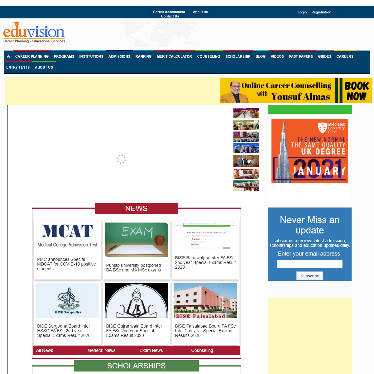 EduVision - Career Planning and Educational Guidance
