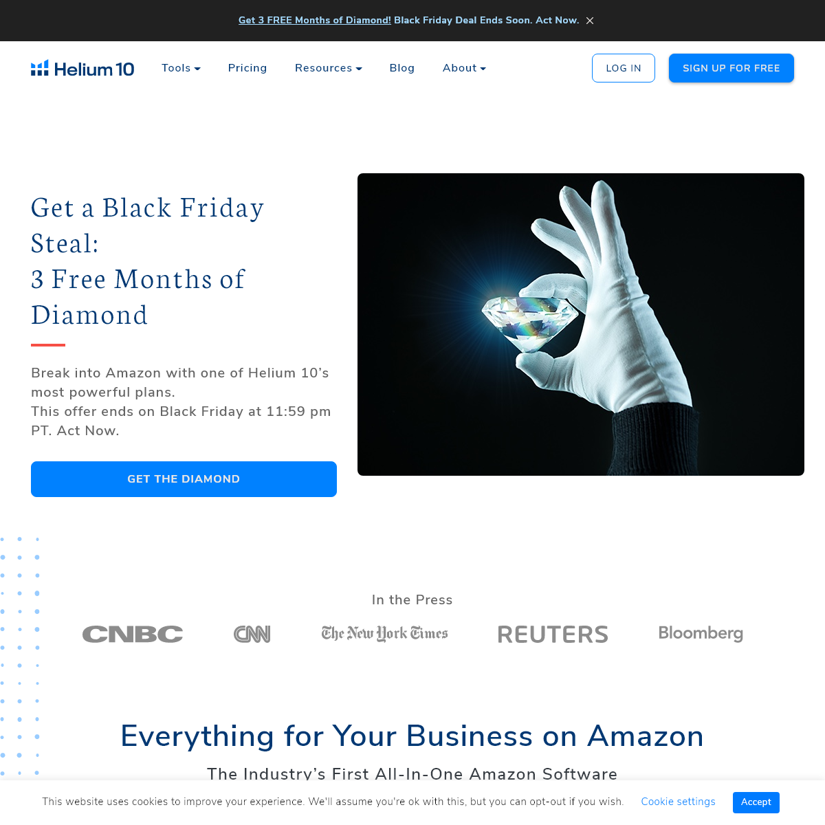 Everything You Need to Sell on Amazon and More - Helium 10