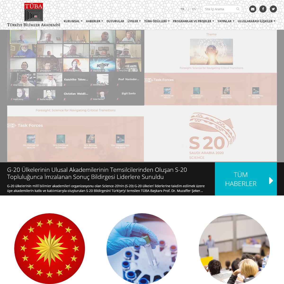 Türkiye Bilimler Akademisi