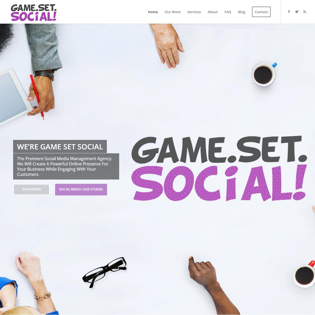 Game Set Social - Social Media Management