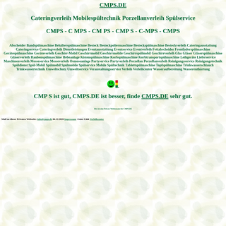 cmps Cateringverleih Mobilespültechnik Porzellanverleih Spülservice Spülmobil Verleih Geschirrmobil Mieten