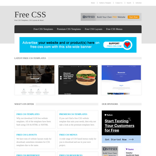 Free CSS - 3130 Free Website Templates, CSS Templates and Open Source Templates