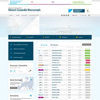 Aeroporturi București - Aeroportul Internaţional Henri Coandă Bucureşti