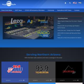 Great Circle Media - Online - On Air - On Site - Northern Arizona Radio Stations
