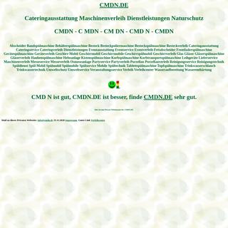 cmdn Cateringausstattung Maschinenverleih Dienstleistungen Naturschutz Spülmobil Verleih Geschirrmobil Mieten